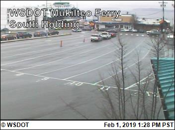 Mukilteo - South Holding Area