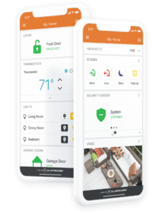 whidbey security Mobile App Interface