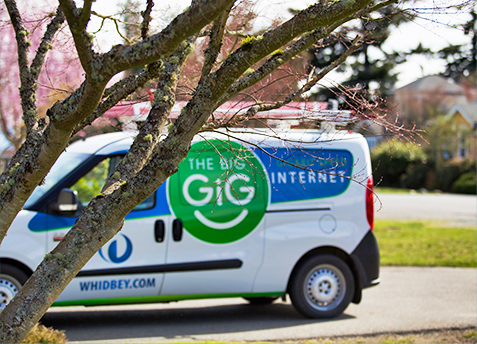 fiber internet neighborhoods on Whidbey Island