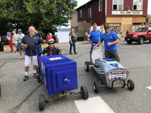 Whidbey Telecom soup box derby langely