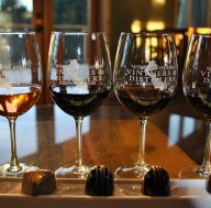 wine and chocolate tour on Whidbey Island