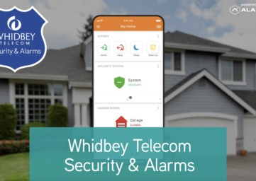 Whidbey Telecom home security and alarms app